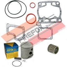 Suzuki RM125 RM 1990 54mm Bore Mitaka Top End Rebuild Kit Inc Piston & Gaskets